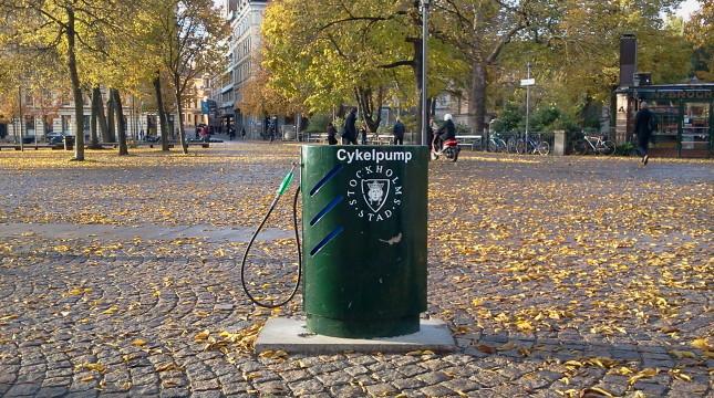 Fler cykelpumpar i kommunen