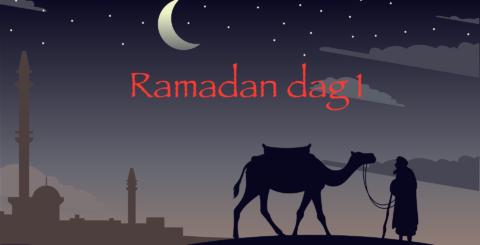 Ramadan dag 1