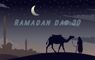 Ramadan dag 30